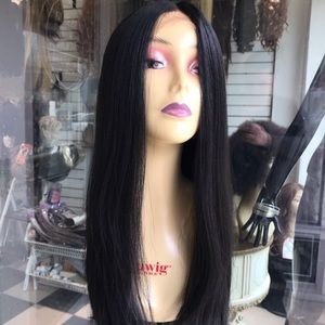 Accessories - Wig Lacefront Hairloss Black Long 2019 Style Wig